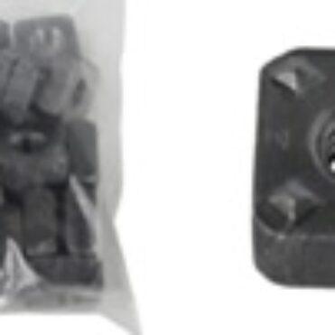 Weld-On Nut, 6mm, 20Pk.
